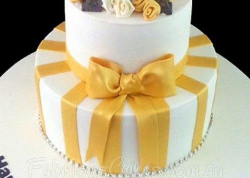 Paris Theme Cake