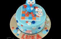 Hoot the Owl Cakes
