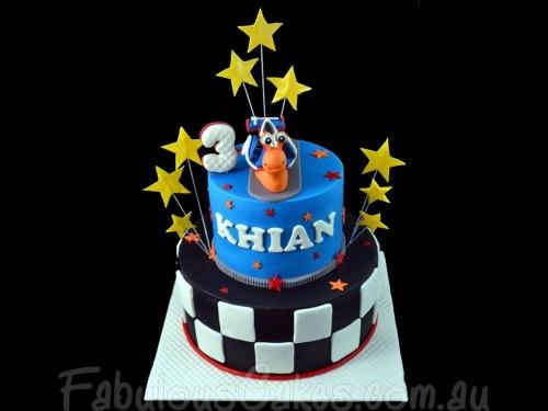 Turbo the Snail Cake