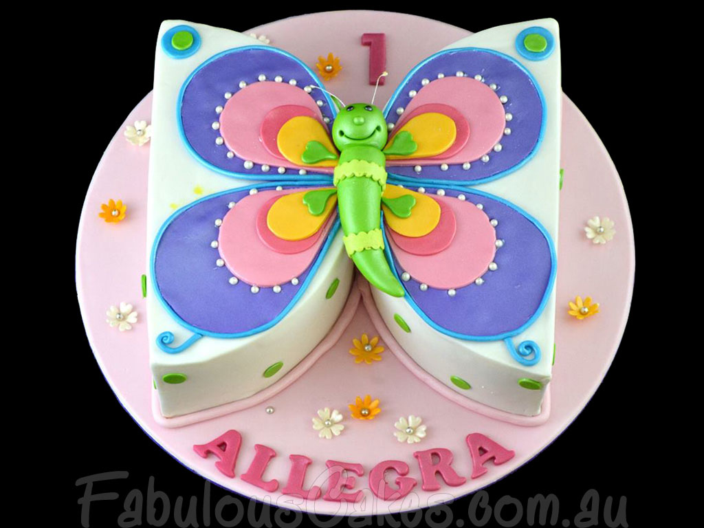 Butterfly Cupcakes Birthday Cakes