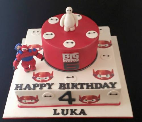 Big Hero 6 Theme Cake