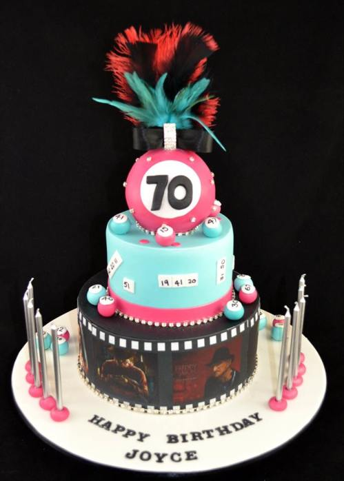 Bingo and Horror Movie CaKe