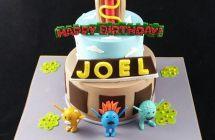 Dumb Way To Die Theme Cakes