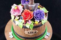 Gardening Theme Cakes