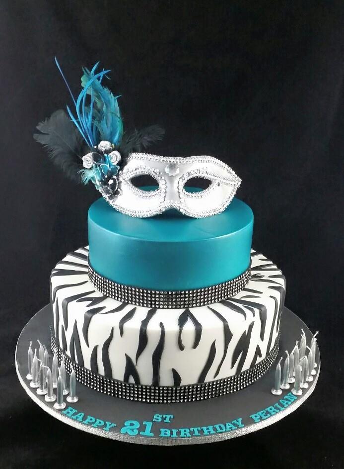 Masquerade Theme Cakes Fabulous Cakes