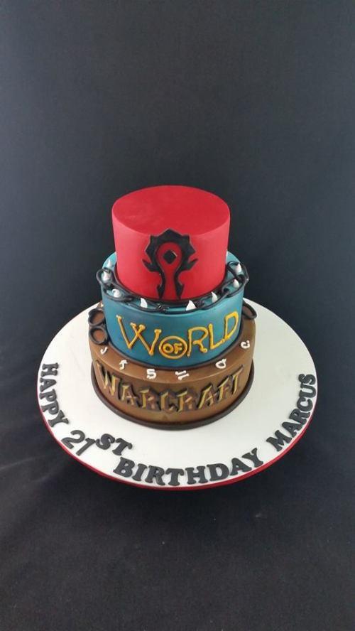 World of War Craft Cake