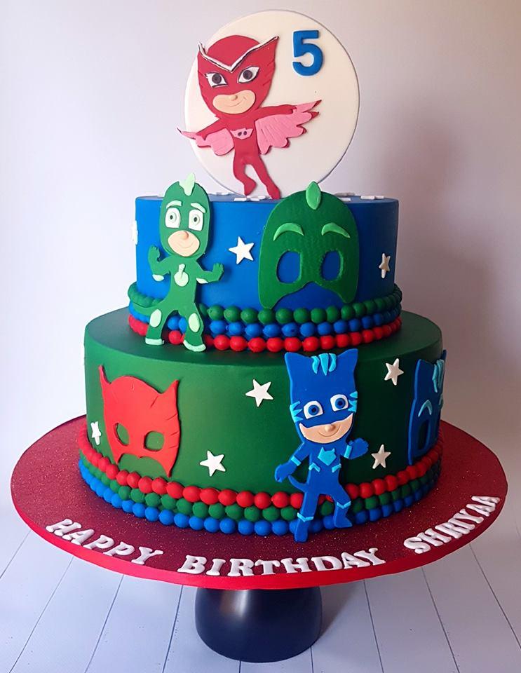Pj Mask Cake Decorations