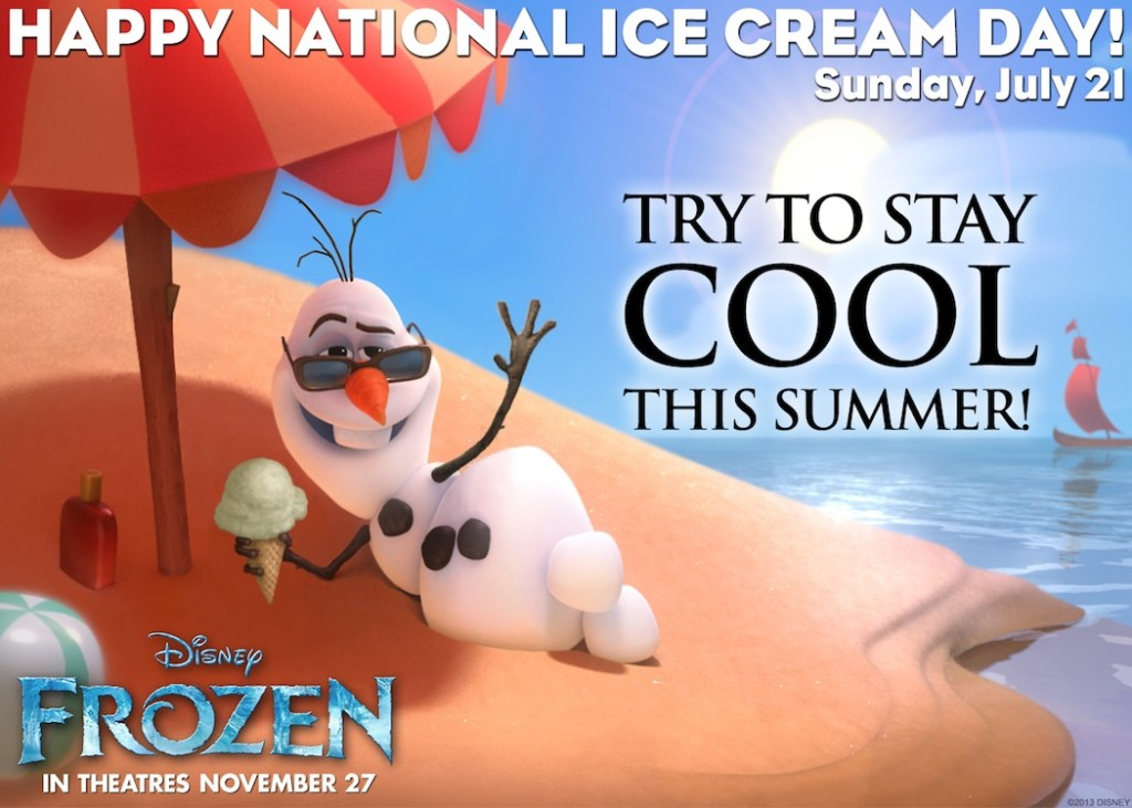 FROZEN Ice Cream eCard