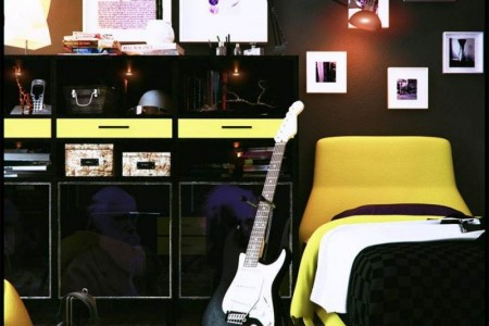 10 cool teenage bedroom ideas for boys cool yellow glossy