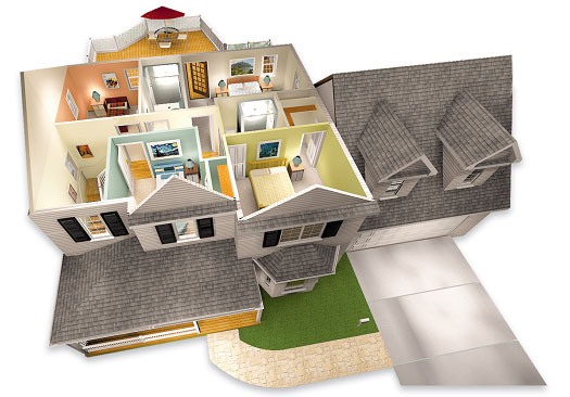 Create Your Own With These Virtual House Designs