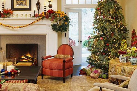 2. great christmas living room decoration