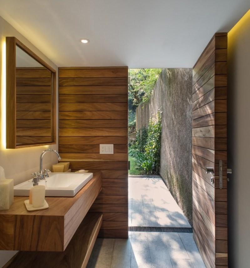Pool house bathroom ideas for Pool bathroom flooring