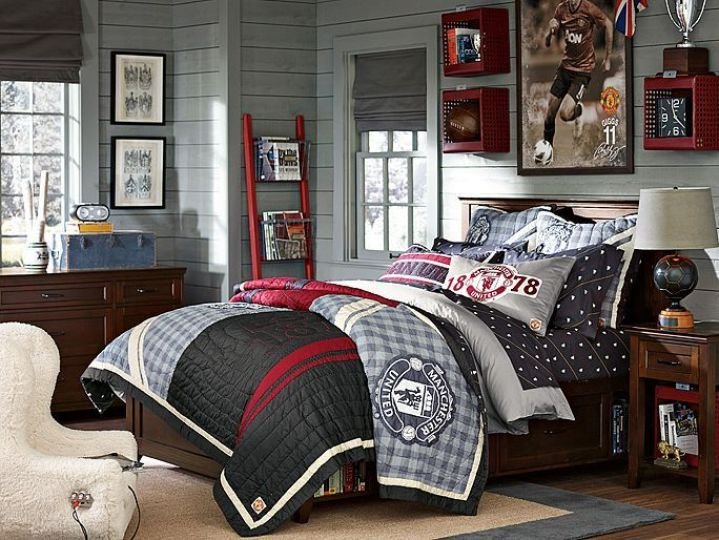 Ideas for boys teenage bedroom for Well designed bedrooms