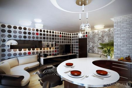 arch elegant interior with a gorgeous and trendy design