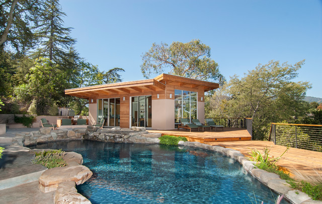 Stylish Modern Pool Houses
