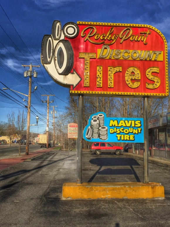 Tire Shop – Fading Ad Blog