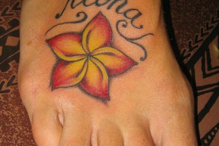 cute foot tattoo designs for girls 1
