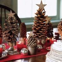 15 creazioni natalizie da realizzare con le pigne