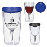 TO GO WINE GLASSES WITH YOUR LOGO