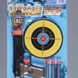 SWAT Force Dart Gun Set   7-2002