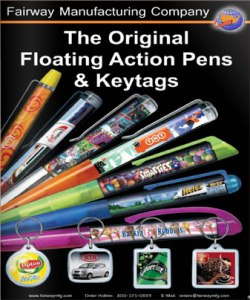 Fairway Manufacturing Company 2016 Floating View Pen Catalog