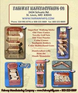 Fairway Manufacturing Company 2016 Ozark Gifts Catalog