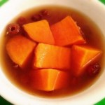 Sweet Potato Ginger Dessert Soup