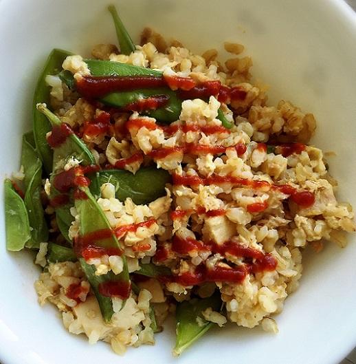 Sriracha Tuna Fried Rice
