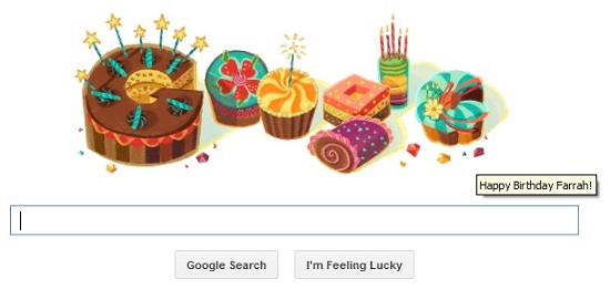 Thanks, Google! :O