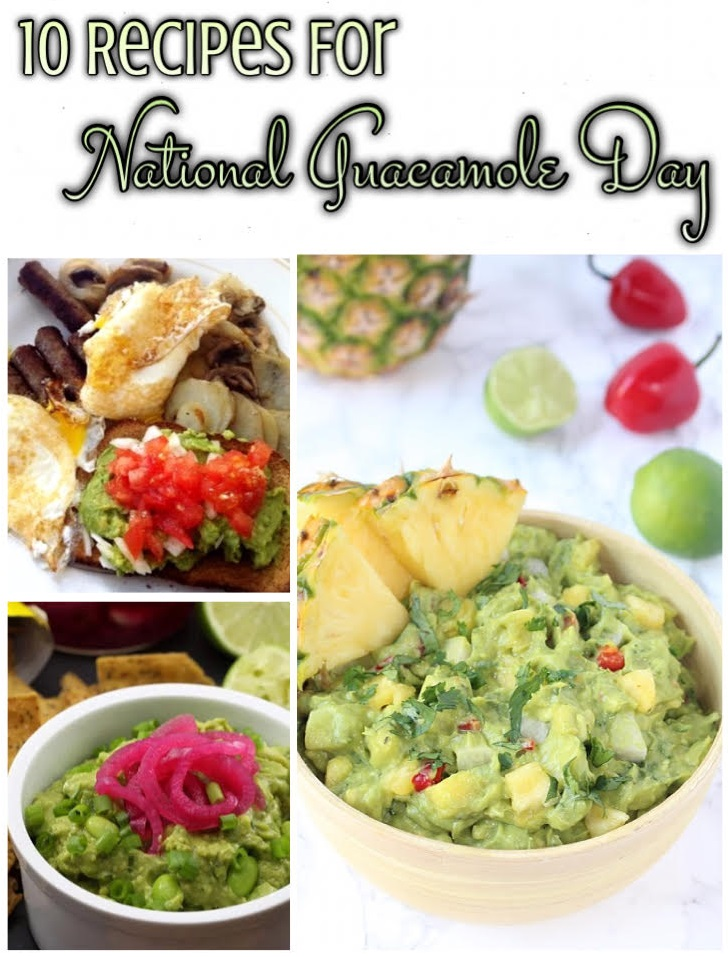 10 Recipes For National Guacamole Day