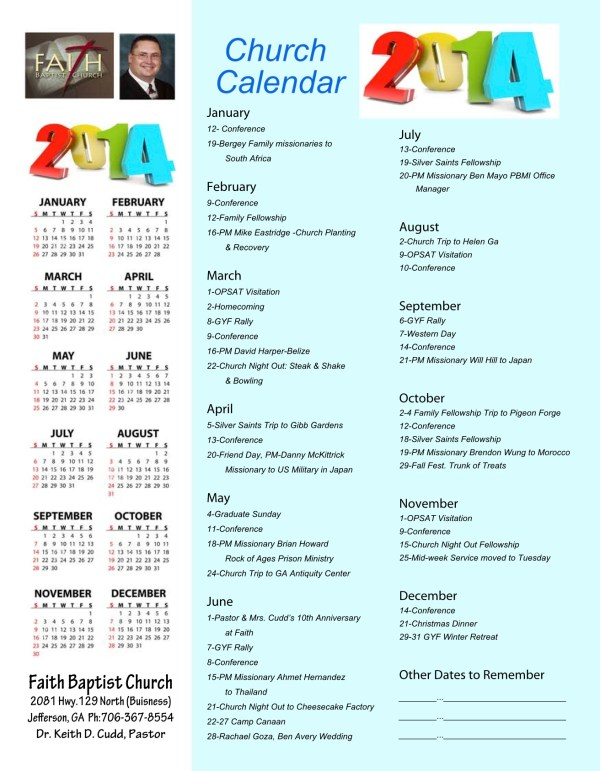 Search results for yearly calendar of church events for Annual calendar of events template