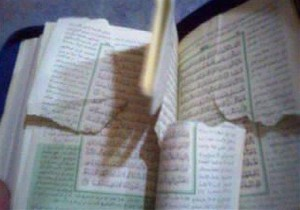 Tearing Quran