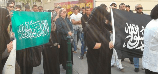 Austria muslim-Protest