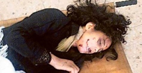 The graphic photo of the dead girl sparked outrage on social media and local media outlets with some people demanding that the girl's father be executed.