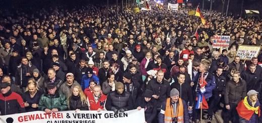 Germany Anti Islam Rally