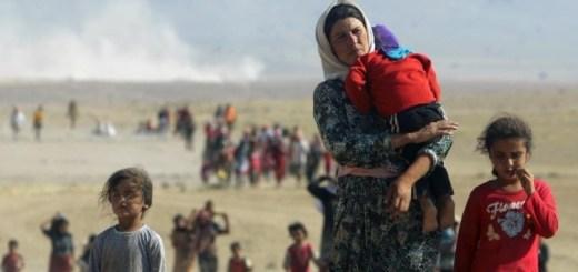 iraqi-yazaidis-fleeing-the-violence-and-the-islamic-state