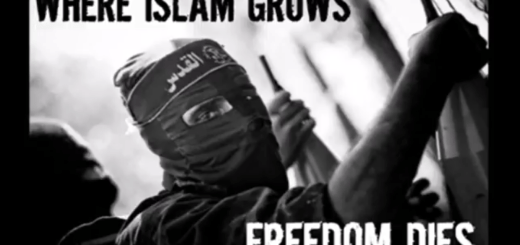 Where Islam grows, dies freedom