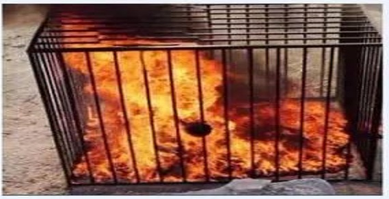 80 year old christian woman burned by ISIS