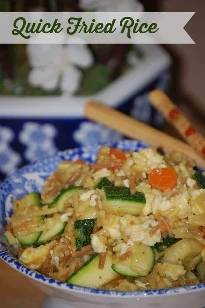 Quick Fried Rice Recipe | Faithfully Free