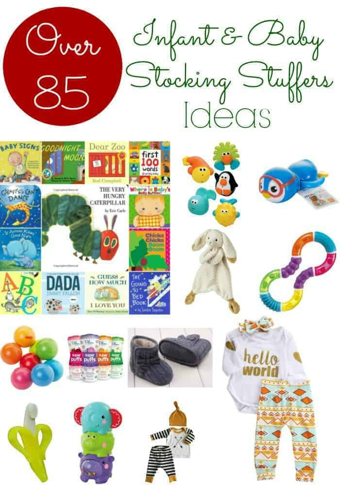 Baby stocking stuffers over 85 stocking stuffer ideas for Good ideas for stocking stuffers