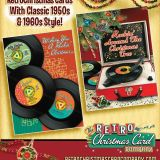 Christmas Cards from The Retro Christmas Card Company
