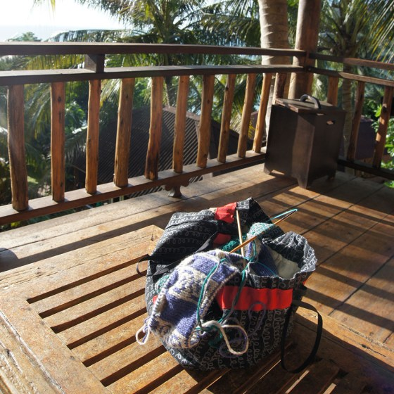 Knitting in the tropics