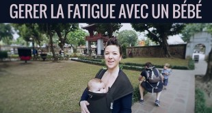 Fatigue avec bébé