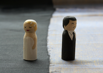 Divorce Doesn't Make You………