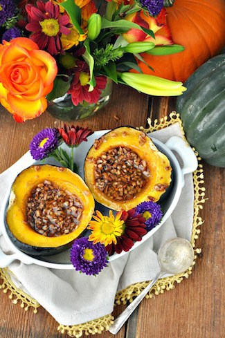 Praline-stuffed acorn squash | Thanksgiving sides round up