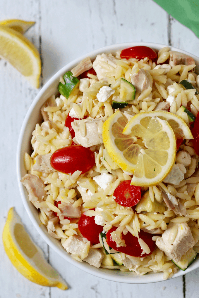 ... orzo salad with asparagus and tomatoes recipe yummly lemony orzo and