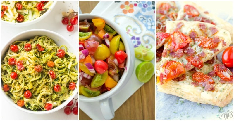 Large Of Cherry Tomatoes Recipes