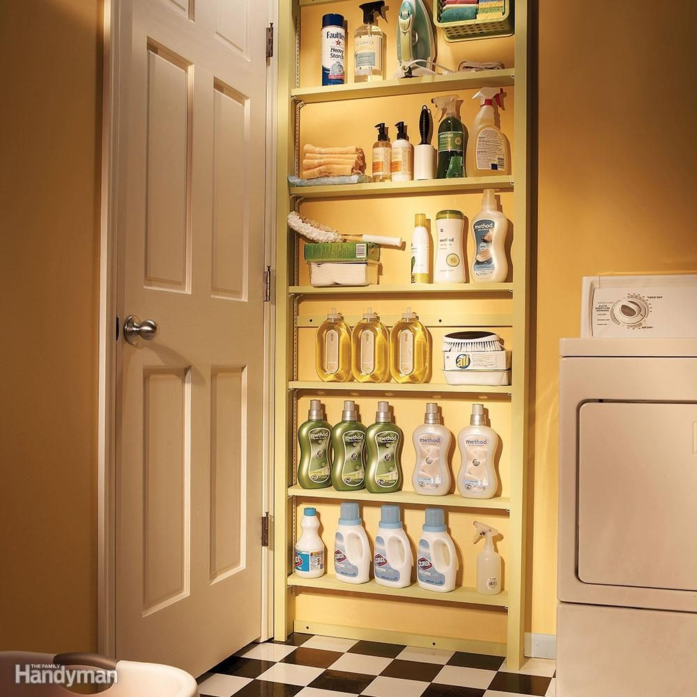 Lovable Shelves Ways To Squeeze More Storage Out Small Spaces Family Handyman Small Wall Storage Shelves Small Plastic Storage Shelves interior Small Storage Shelves