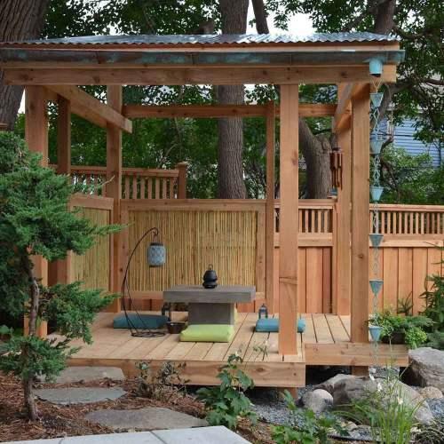 Medium Of Hardscape Backyard Ideas