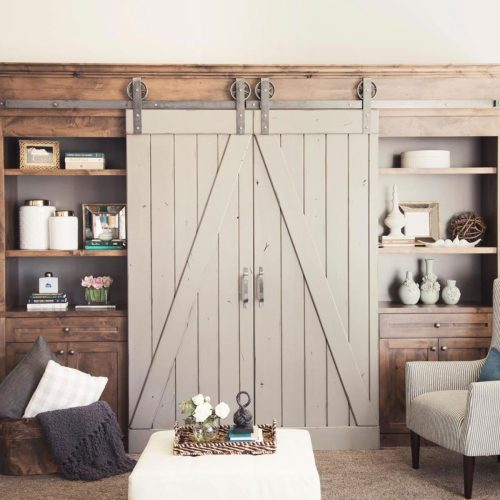 Medium Crop Of Double Barn Doors